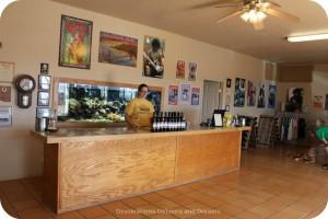 Rancho Rossa tasting room