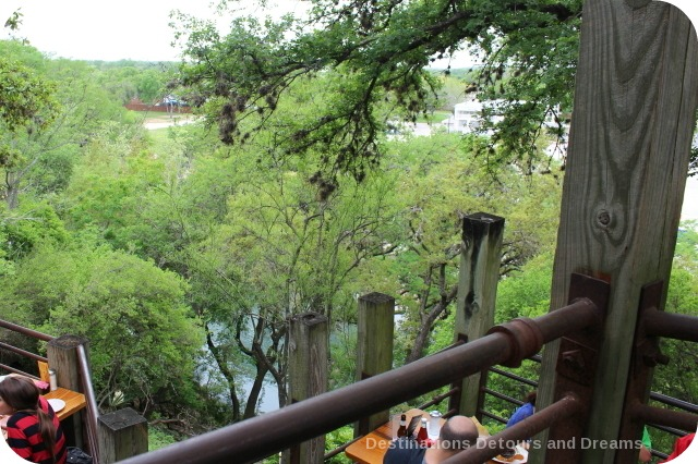 View from Gristmill Restaurant
