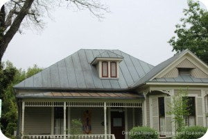 King William District roof