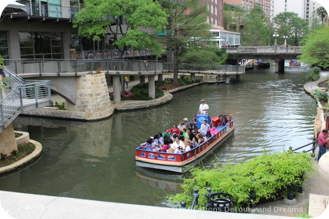 San Antonio Riverwalk cruise