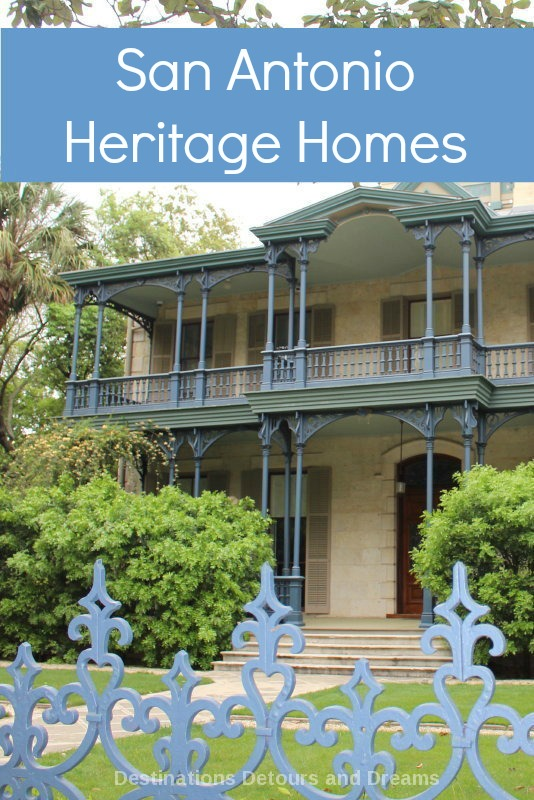 San Antonio's King William District has many heritage homes