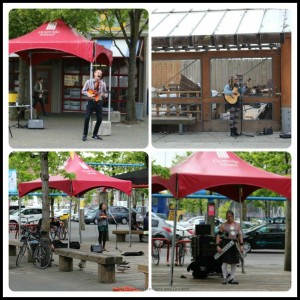 Granville Island entertainers