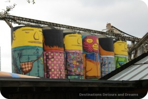 Gravnille Island murals