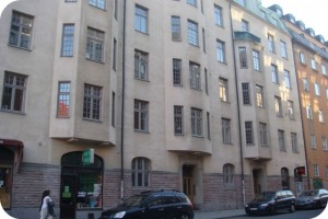 Stockholm apartment building