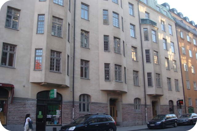 Stockholm apartment building