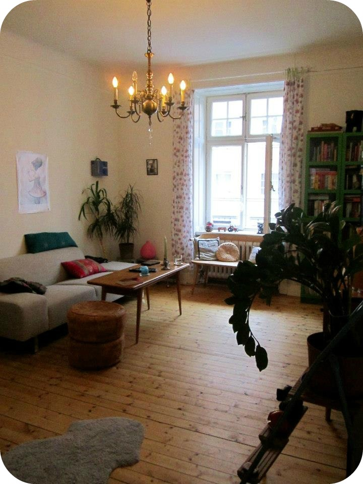 Swedish living room