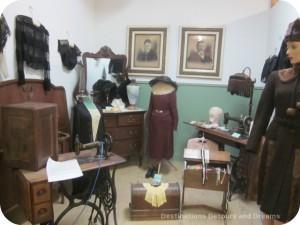 Scene in Morris Manitoba Museum