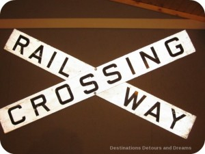 Railway Crossing sign