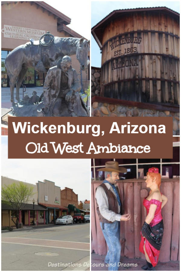 Old West Ambiance in Wickenburg, Arizona: Experience the old west ambiance of Wickenburg, Arizona on a self-guided walking tour. It's like stepping back in time and walking through a museum.