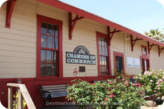 Wickenburg old train depot