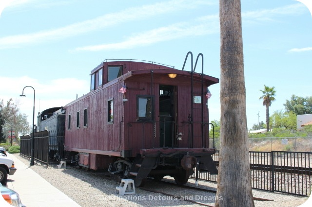 Wickenburg Railroad Engine