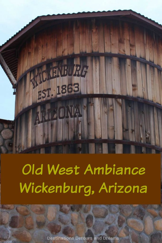 Experience the old west ambiance of Wickenburg, Arizona on a self-guided walking tour. It's like stepping back in time and walking through a museum.