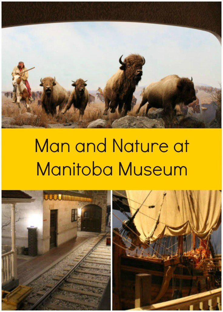 Winnipeg's Manitoba Museum showcases both natural and human history in the varied landscapes of Manitoba