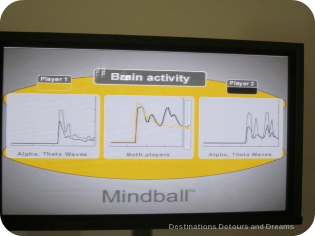 Mindball game at BC Science World