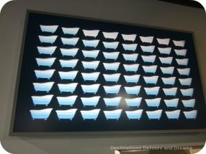 Water consumption display at BC Science World