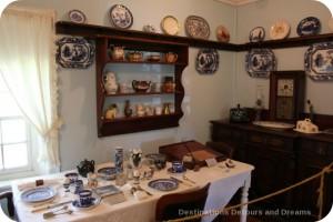 Seven Oaks House Museum breakfast nook