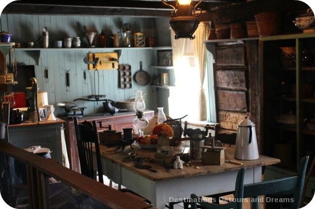 Seven Oaks House Museum kitchen