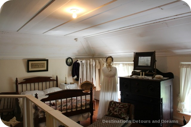 Seven Oaks House Museum master bedroom