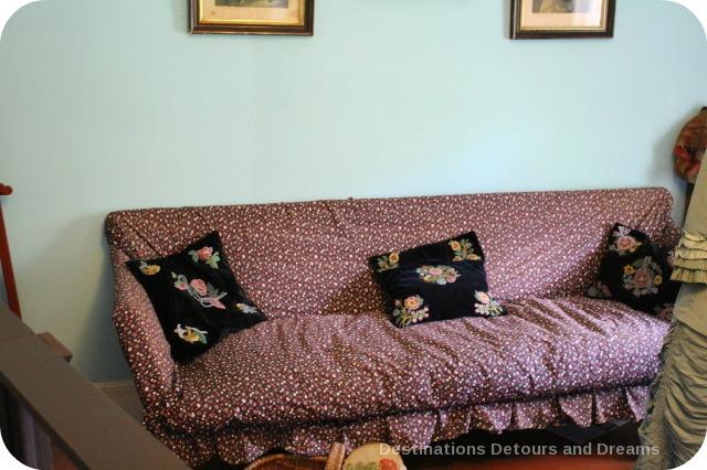 Seven Oaks House Museum sofa