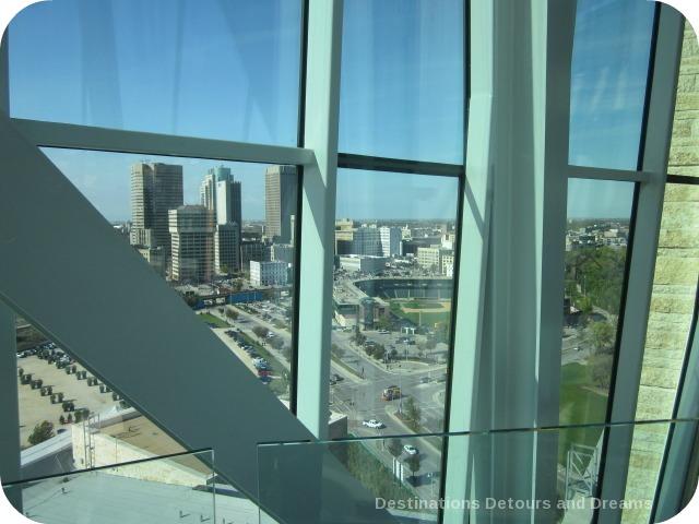 View of downtown Winnipeg
