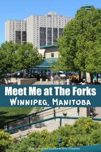 The Forks in Winnipeg, Manitoba has been a meeting place for thousands of years and remains one today with things to do, restaurants, shopping and green space. #Winnipeg #Manitoba #dining #touristspot