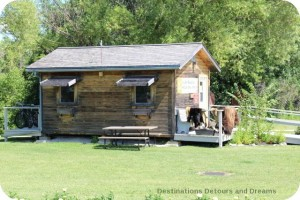 Park office at St. Norbert Heritage Park