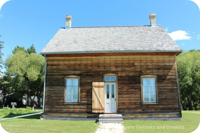 Turenne House at St. Norbert Heritage Park