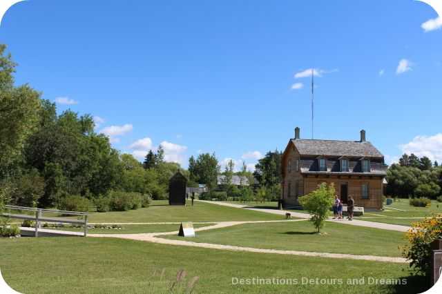 French Canadian heritage in St. Norbert Park
