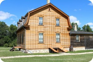 Bohémier House at St. Norbert Heritage Park