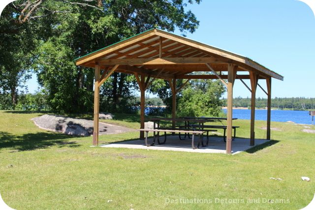 Falcon Lake picnic area