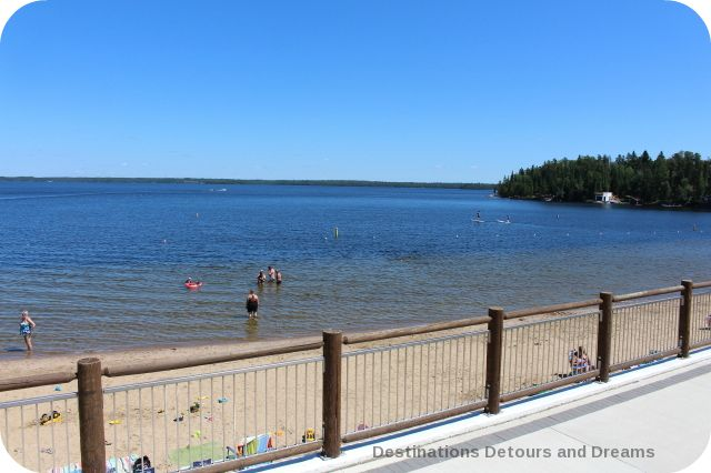 West Hawk Lake beach