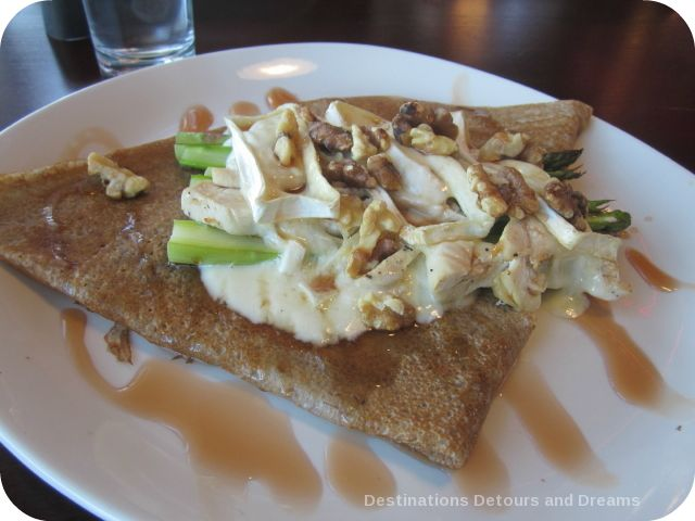 Buckwheat crepes at Mon Ami Louis
