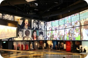 Canadian Journeys gallery at CMHR