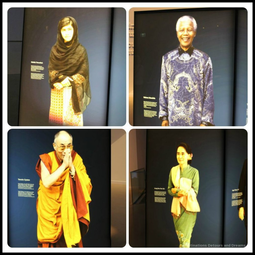 Turning Points gallery highlights individuals who continue to work tirelessly for human rights