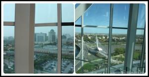 Winnipeg views from Tower of Hope