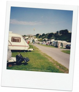 Evoking travel memories - Porth Campground