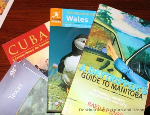 Guidebooks and trip planning