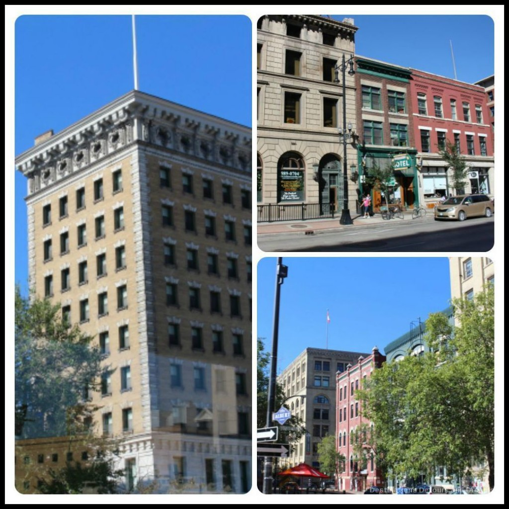 Turn of the century architecture on Heart of a Nation City Tour