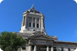 Golden Boy atop Manitoba Legislative Building