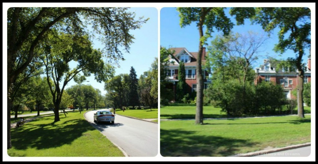 Wellington Crescent on the Heart of a Nation City Tour