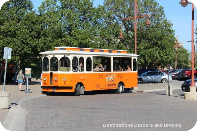 Heart of a Nation City Tour trolley bus