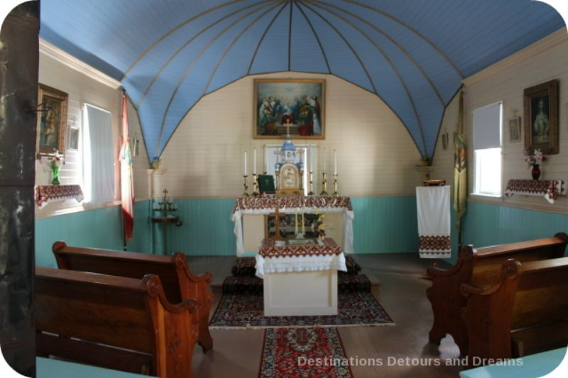 Plankey Plains Ukrainian Church at St. Joseph Museum