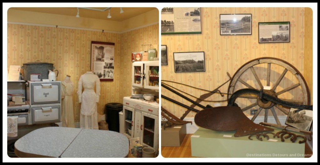 Inside the Okotoks Museum