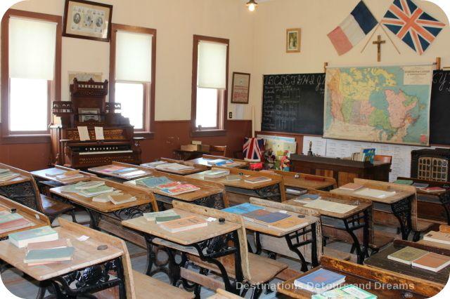 St. Joseph Museum Heritage Village school