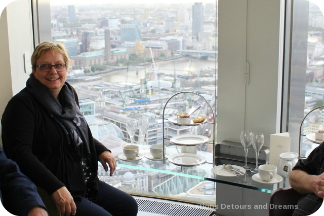 Afternoon tea high over London