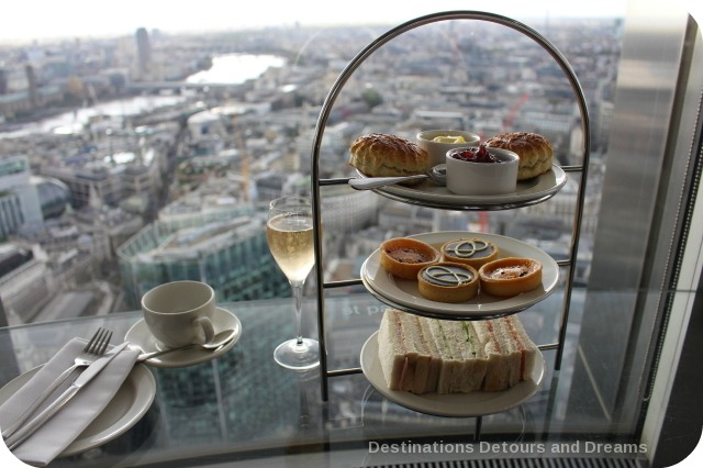 Afternoon tea high above London