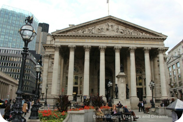Bankers and Brokers London Tour: Royal Exchange