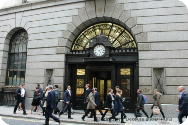 Bankers and Brokers London Tour