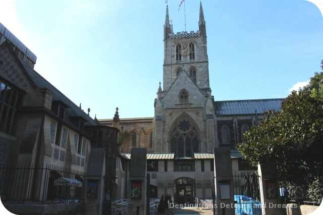 Bankside River Walk: Southwark Cathedral
