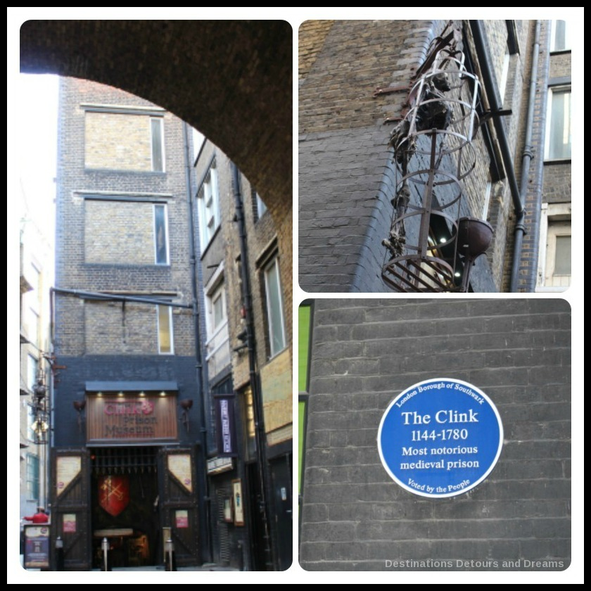 Bankside River Walk: The Clink